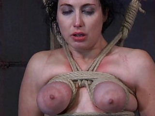 Cutie Acquires Facial Torture During Bdsm Play