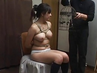 Subtitles Japanese BDSM Bird Cage And Nose Hooks