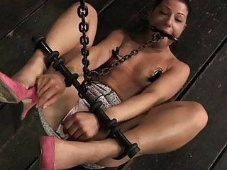 Torturing A Tiny Playgirl