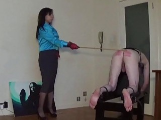 Miss Sultrybelle Administers 70 Strokes