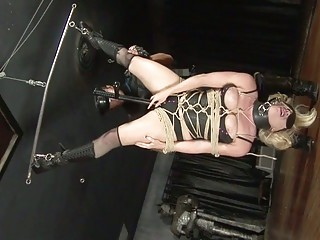 Amateur Sex Movie With A Blonde Bondage Babe And Fucked By A Hard Cock
