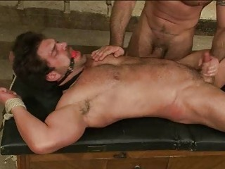 Hot Gay Dude Got Tied Up And Gagged