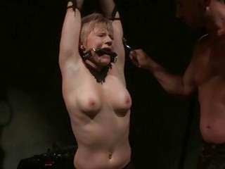 Slave Gets Painfully Punished And Anal Fucked