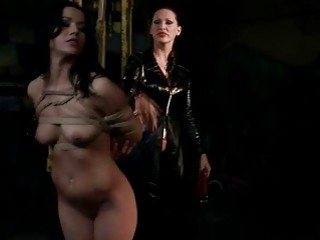 Naughty Mistress Punishing Hot Girl