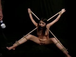 Sexy Girl Gets Tied Up And Fucked Hard