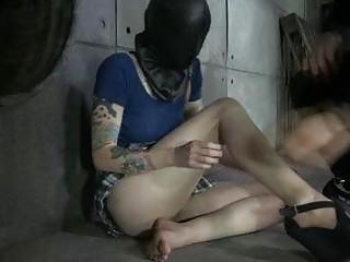 Coed Got Electro Shocks In Infernal BDSM!